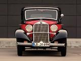 Mercedes-Benz 200 Sonnenschein Limousine (W21) 1933–36 photos