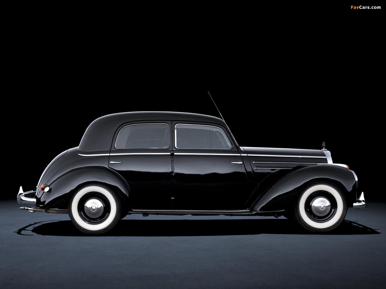 Mercedes-Benz 220 (W187) 1951–55 wallpapers (1280 x 960)