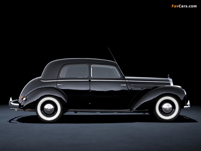 Mercedes-Benz 220 (W187) 1951–55 wallpapers (800 x 600)