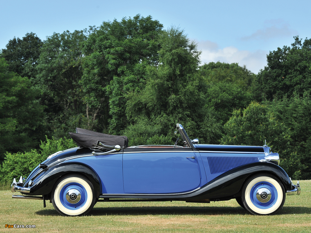 Images of Mercedes-Benz 230 Cabriolet A (W143) 1937–41 (1024 x 768)