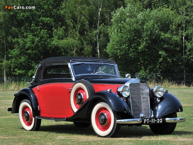 Images of Mercedes-Benz 230 N Cabriolet A (W143) 1937 (640 x 480)