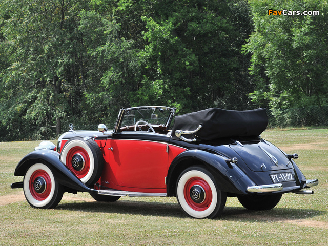 Photos of Mercedes-Benz 230 N Cabriolet A (W143) 1937 (640 x 480)