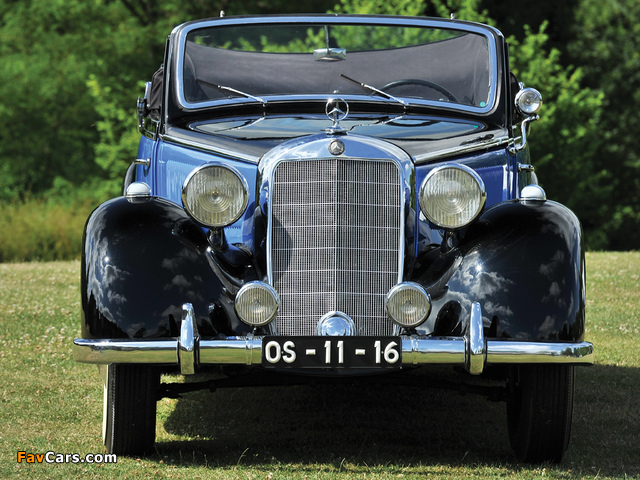 Pictures of Mercedes-Benz 230 Cabriolet A (W143) 1937–41 (640 x 480)