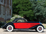Mercedes-Benz 290 lang Cabriolet A (W18) 1934–37 pictures