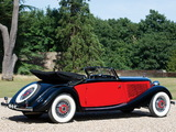 Mercedes-Benz 290 lang Cabriolet A (W18) 1934–37 wallpapers