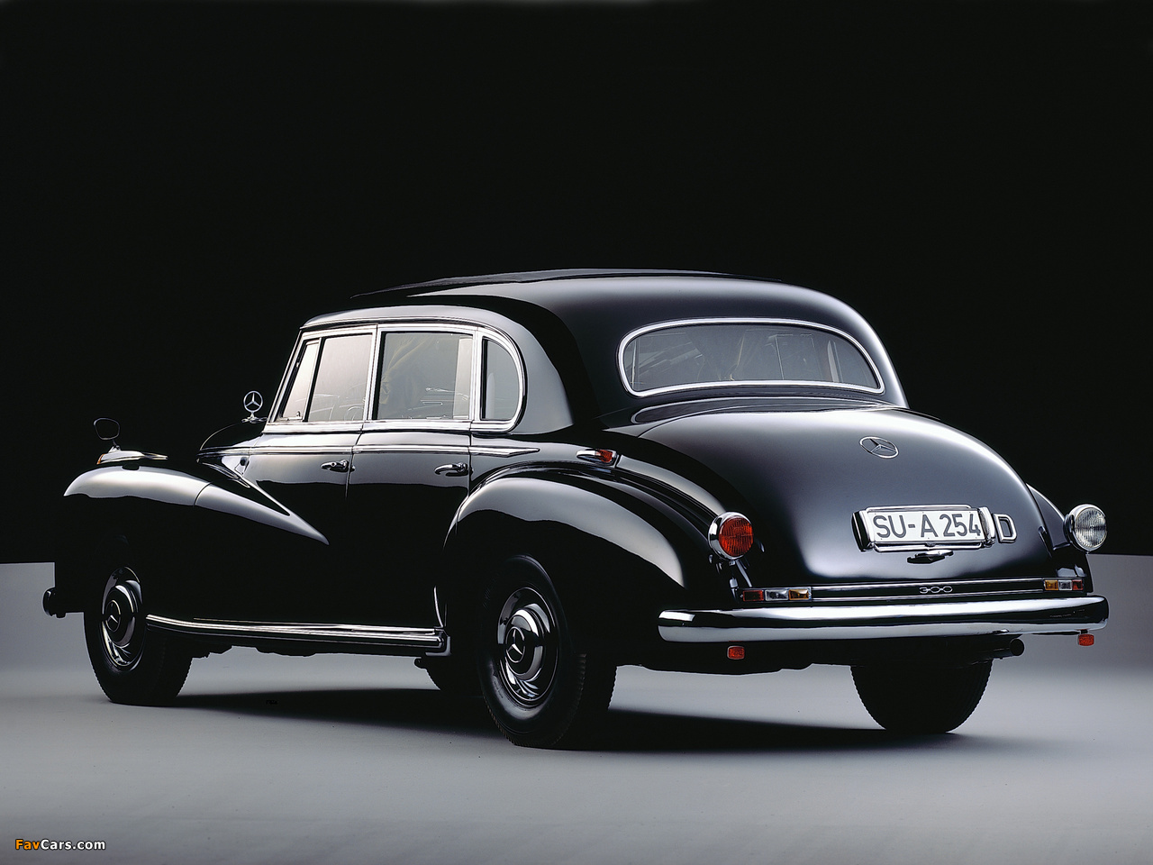 Mercedes Benz >> Mercedes-Benz 300 Limousine (W186) 1951–57 wallpapers (1280x960)