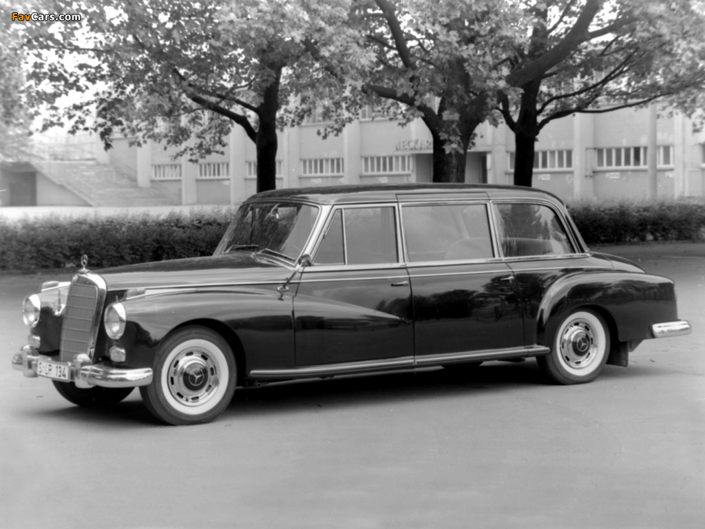 Mercedes benz 300d pullman limousine w189 1960 images for Mercedes benz limo