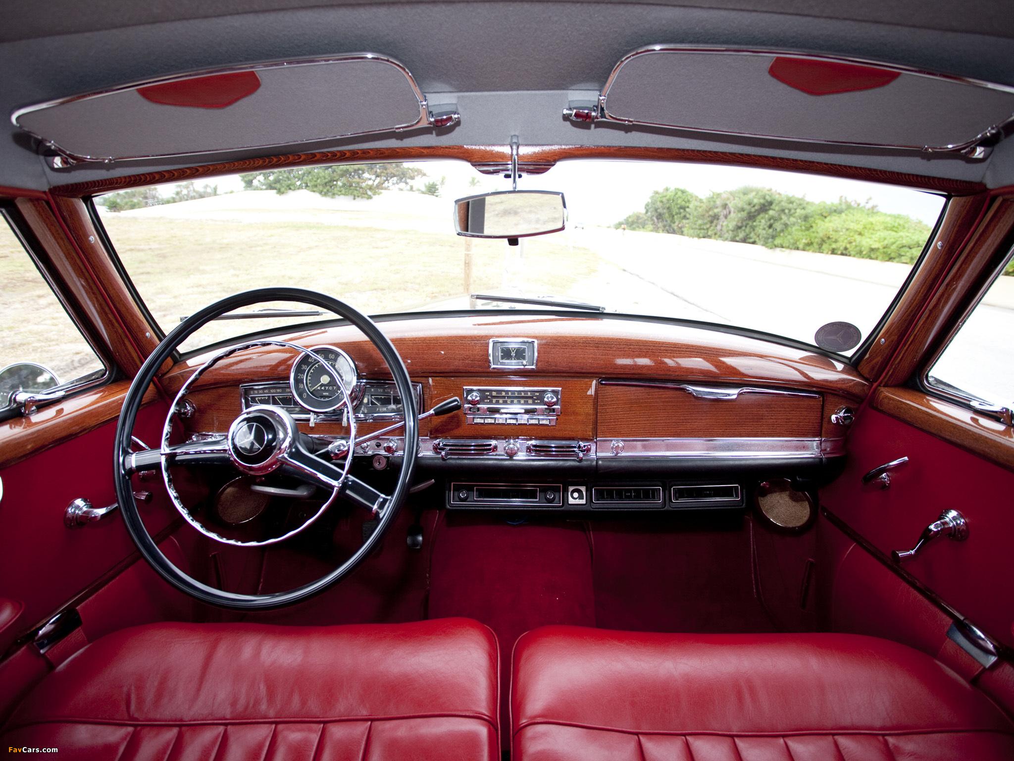Mercedes Benz Car >> Mercedes-Benz 300c Station Wagon by Binz 1956 photos (2048x1536)