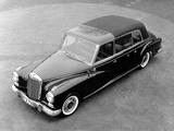 Mercedes-Benz 300d Pullman Landaulet Popemobile (W189) 1960 images