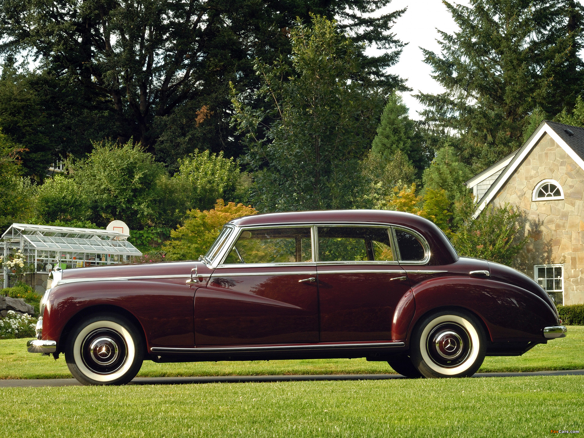 Pictures of mercedes benz 300 limousine w186 1951 57 for 57 mercedes benz