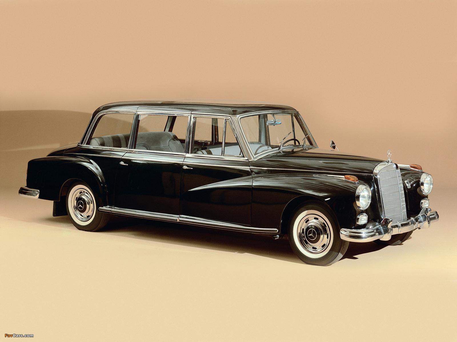 Mercedes benz 300d pullman limousine w189 1960 for Mercedes benz 300d