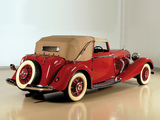Mercedes-Benz 500K Drophead Coupe by Corsica 1936 wallpapers