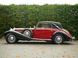 Mercedes-Benz 540K Cabriolet C 1937–38 wallpapers