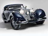 Mercedes-Benz 540K Cabriolet A (RHD) 1937–38 wallpapers