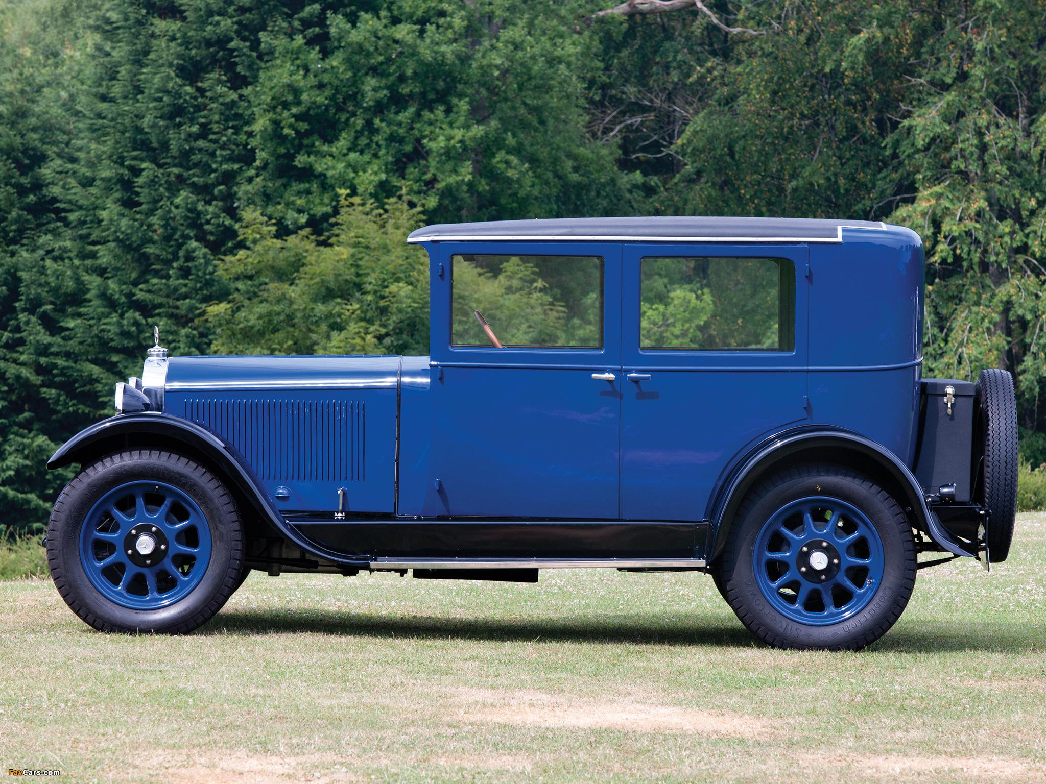 Mercedes-Benz 8/38 HP Stuttgart 200 Limousine (W02) 1928 ...