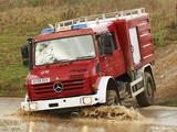 Images of Mercedes-Benz Unimog U4000 Double Cab Firetruck 2000–13