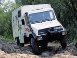 Mercedes-Benz Unimog U140 Motorhome (418) 1992–2001 pictures