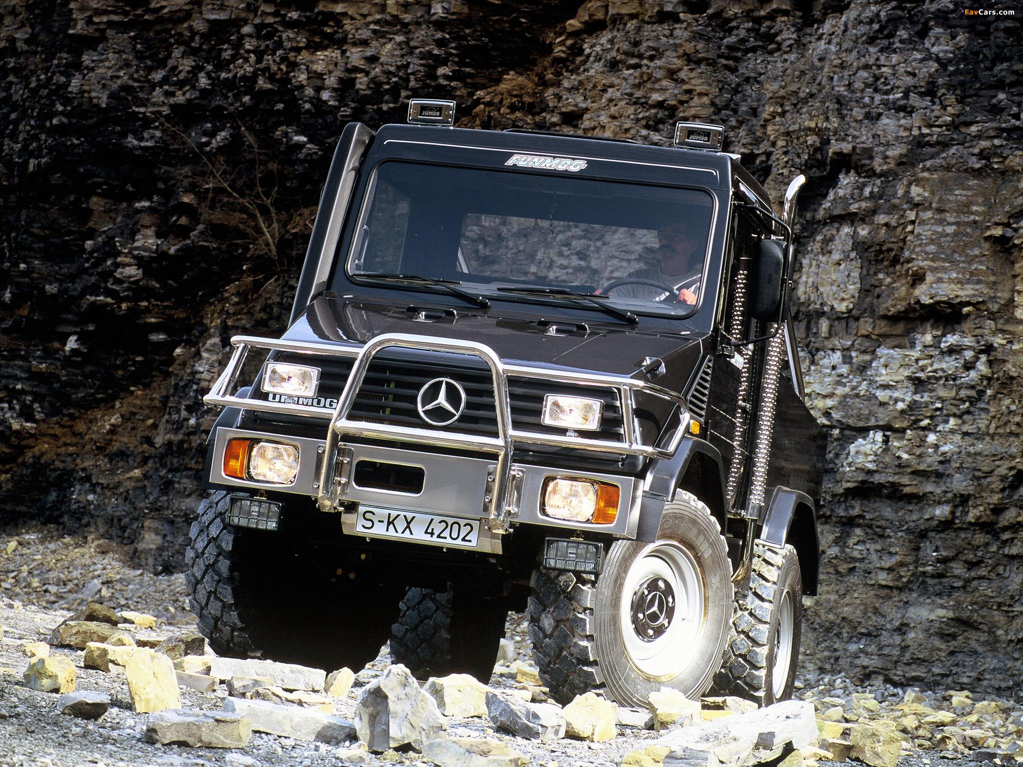 Mercedes-Benz Unimog U90 Funmog (408/418) 1994 wallpapers ...