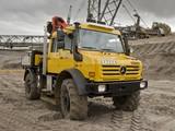Mercedes-Benz Unimog U5000 L Double Cab 2000–13 images