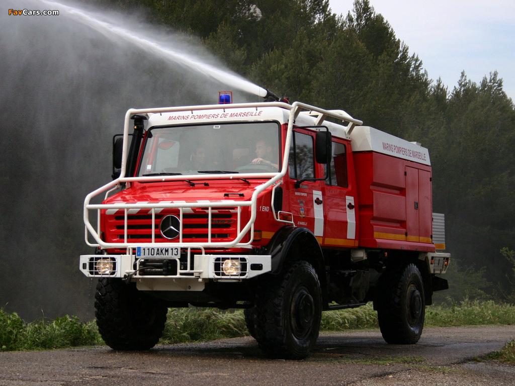 Photos of Mercedes-Benz Unimog U5000 Feuerwehr 2000-13 ...