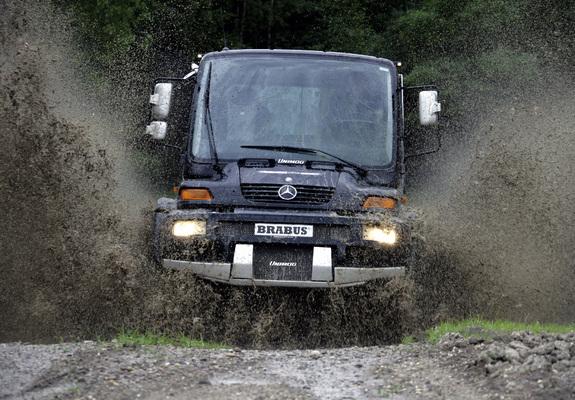 Brabus Mercedes-Benz Unimog U500 Black Edition 2006-13 ...