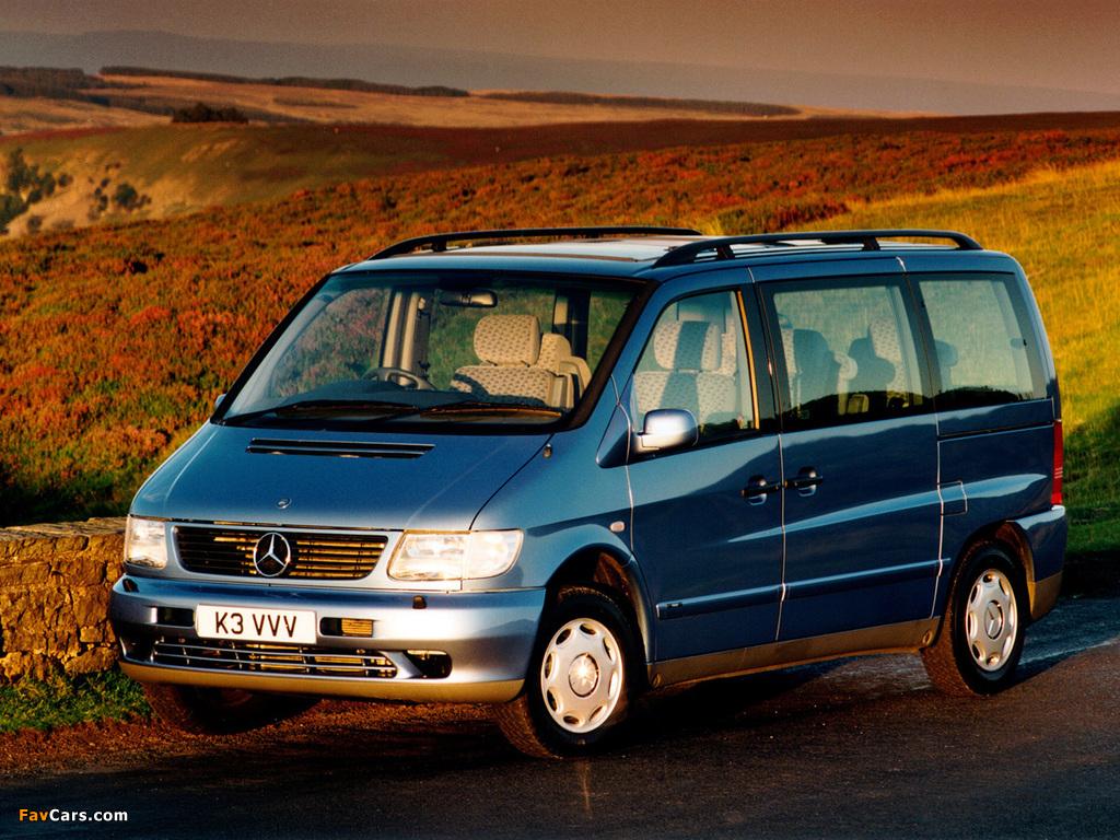 Images of Mercedes-Benz V-Klasse UK-spec (W638/2) 1996–2003 (1024 x 768)