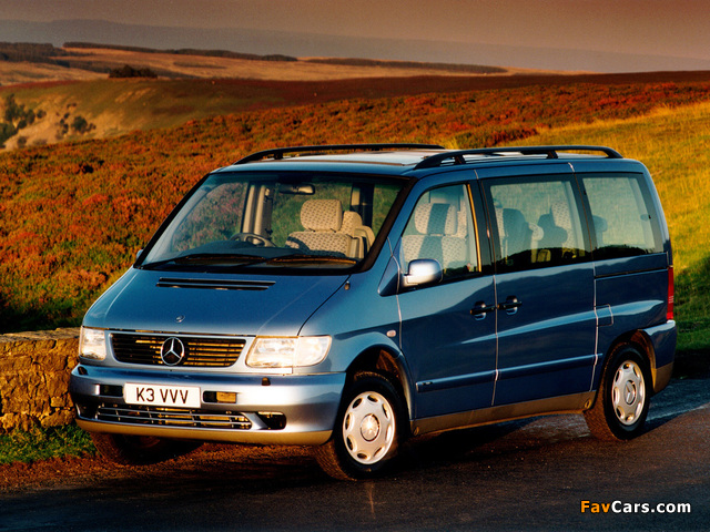 Images of Mercedes-Benz V-Klasse UK-spec (W638/2) 1996–2003 (640 x 480)