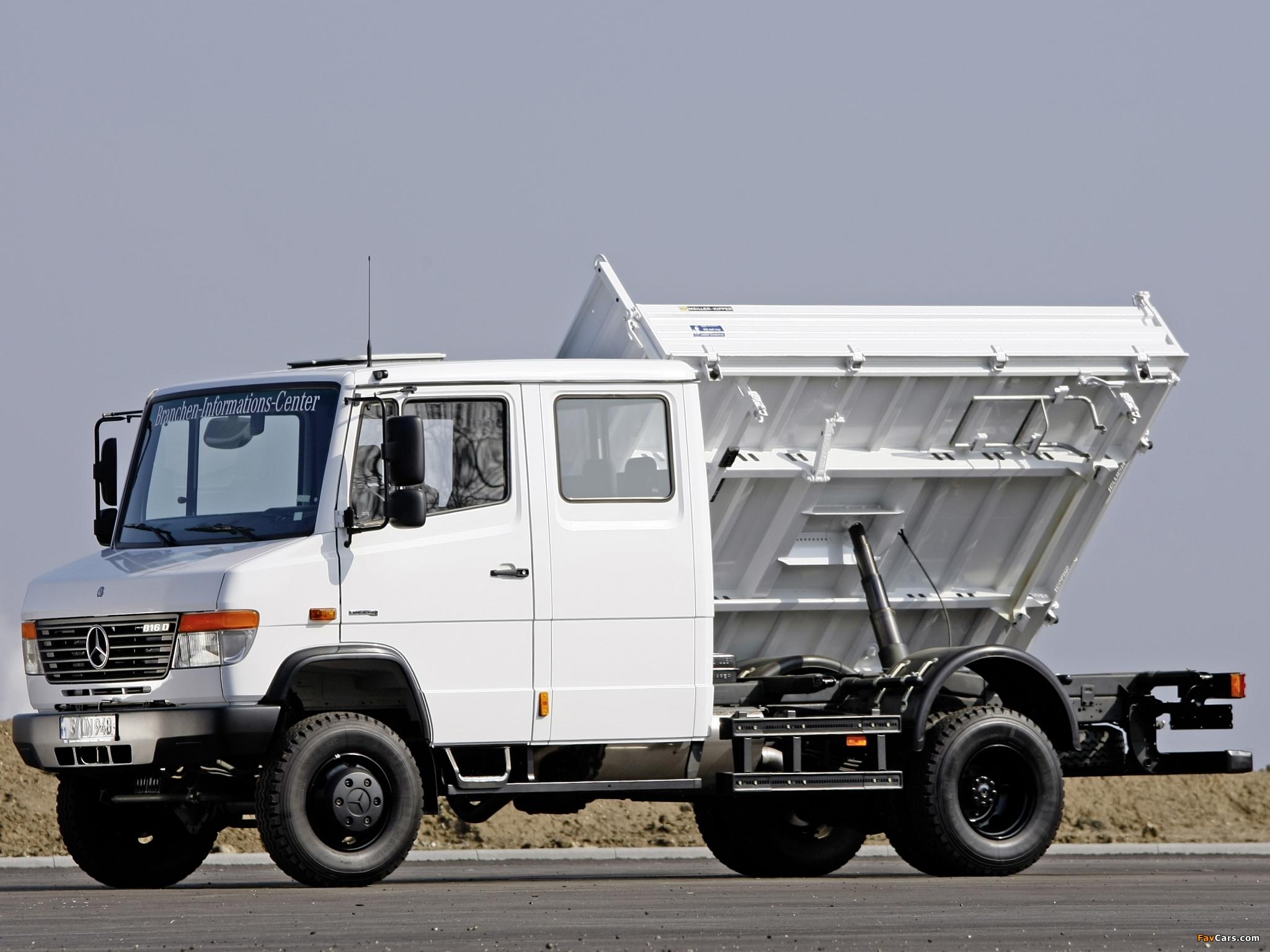 mercedes benz vario double cab truck 4x4 w670 1996 pictures 2048x1536. Black Bedroom Furniture Sets. Home Design Ideas