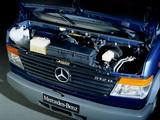 Mercedes-Benz Vario 512D-KA Kasten (667) 1996 pictures