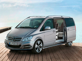 Mercedes-Benz Viano Vision Pearl Concept (W639) 2011 pictures