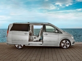 Pictures of Mercedes-Benz Viano Vision Pearl Concept (W639) 2011