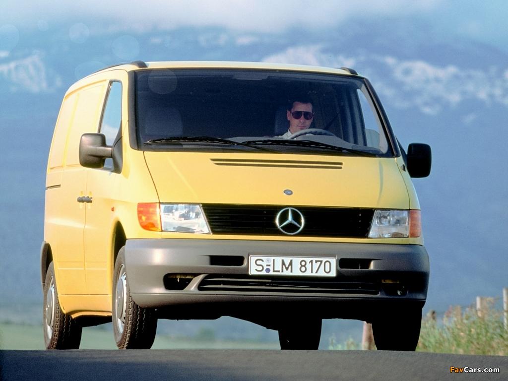 Images of Mercedes-Benz Vito 108 CDI Van (W638) 1996-2003 ...