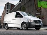 Images of Mercedes-Benz Vito Van E-Cell UK-spec (W639) 2010