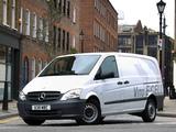 Mercedes-Benz Vito Van E-Cell UK-spec (W639) 2010 images