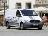Mercedes-Benz Vito Van E-Cell (W639) 2010 wallpapers