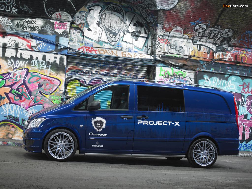 Mercedes-Benz Vito Sport-X Project X (W639) 2012 photos (1024 x 768)