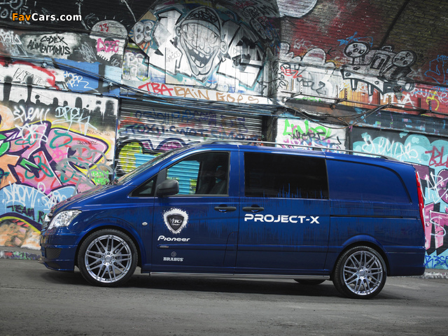 Mercedes-Benz Vito Sport-X Project X (W639) 2012 photos (640 x 480)