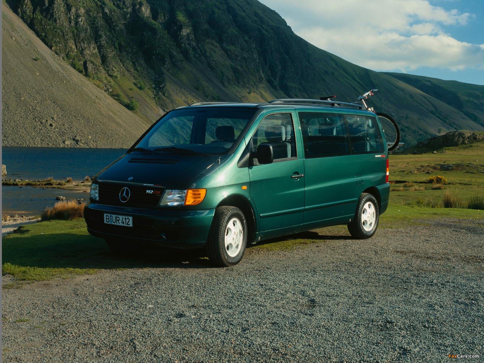 Photos of Mercedes-Benz Vito (W638) 1996-2003 (1600x1200)
