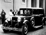 Images of Mercedes-Benz Nürburg 460 K Pullman Popemobile (W08) 1930