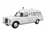 Binz Mercedes-Benz 200 D Ambulance (W110) 1965–68 wallpapers