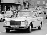 Mercedes-Benz 240 D 3.0 Taxi (W115) 1974–76 images