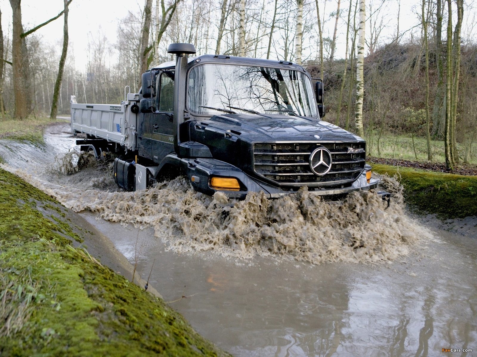 Mercedes-Benz Zetros 1833 2008 pictures (1600x1200)