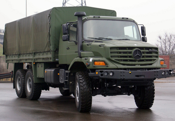 Pictures Of Mercedes Benz Zetros 2733 Military Truck 2008