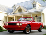 Images of ASC McLaren Mercury Capri Convertible 1986