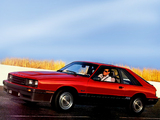 Mercury Capri RS 1985–86 photos