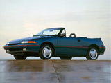 Photos of Mercury Capri XR2 1991–94