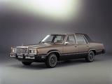 Mercury Cougar LS 4-door Sedan (54D) 1981 wallpapers