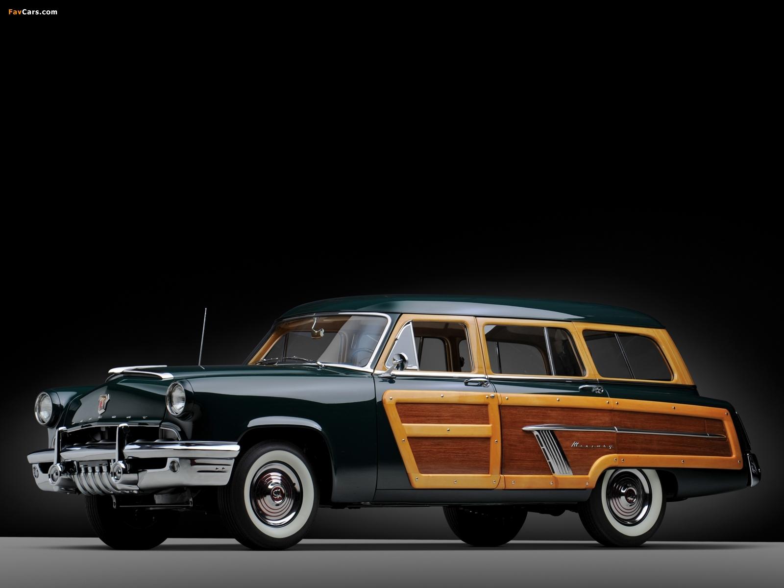 Pictures of Mercury Custom Station Wagon 1952 (1600 x 1200)