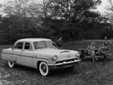 Pictures of Mercury Custom 4-dr Sedan 1953
