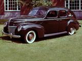 Mercury Eight 4-door Sedan 1939 wallpapers